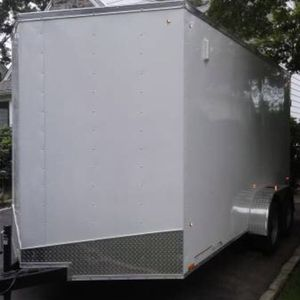 New American Pace V Nose Enclosed 7' X 14' Trailer for Sale in Drexel Hill, PA