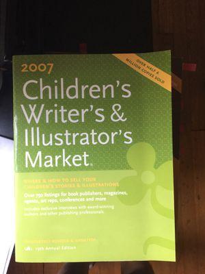Free 2007 children's writers and illustrators market for Sale in Atlanta, GA