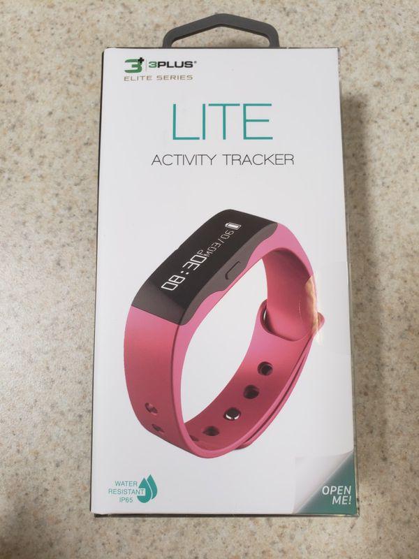 NEW 3 Plus Elite Series Lite Activity Tracker Pink Steps Walking Running Fitness