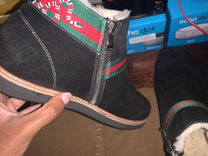 Mens Gucci Ugg boots (VERY COMFY) for Sale in Covington, GA
