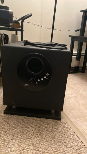 Home theater subwoofer for Sale in Worcester, MA
