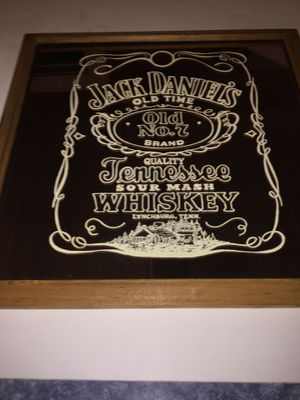Jack Daniels old No. 7 bar mirror for Sale in Brockport, NY