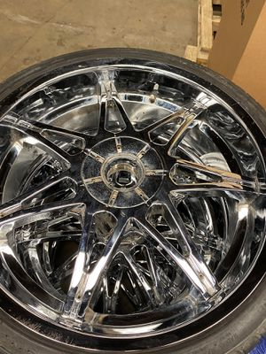 """24"""" rims for Sale in Capitol Heights, MD"""