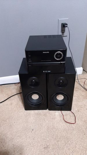 Phillips Sound System and controller (1AAA Battery) for Sale in West Palm Beach, FL