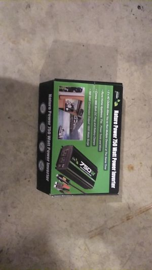 (Nature Power) 750/1500 Watt Power Inverter for Sale in Bakersfield, CA