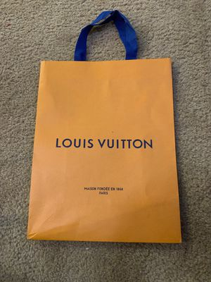 Louis Vuitton gift bag for Sale in Fresno, CA