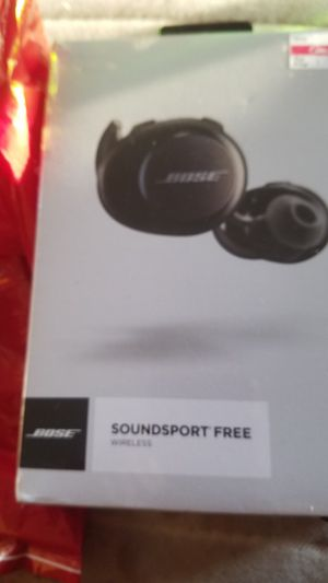 BOSE SOUNDSPORT FREE WIRELESS for Sale in Brooklyn, NY