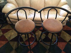Bar/breakfast stool pair like new for Sale in Fresno, CA
