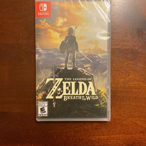 NEW Sealed Package - Zelda Breath of the Wild for Nintendo Switch for Sale in Richardson, TX