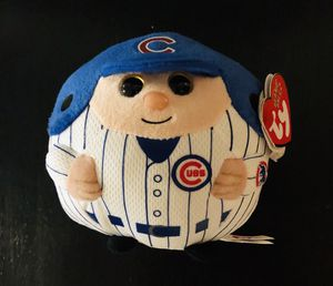 Chicago Cubs MLB Baseball Ty Beanie Ballz Stuffed Plush Toy - BRAND NEW! for Sale in Orangevale, CA