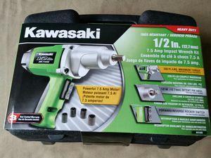 Kawasaki 1/2 inch impact wrench for Sale in Harrisonburg, VA