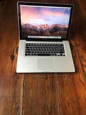"""Apple MacBook Pro 15"""" + Charger & Programs for Sale in Petersburg, VA"""