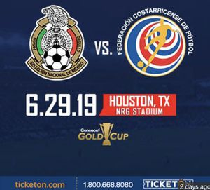 Mexico vs Costa Rica tickets for Sale in Channelview, TX