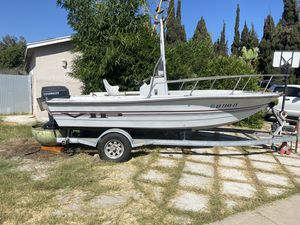 18ft Center console with evinrude 88 spl outboard for Sale in Huntington Beach, CA