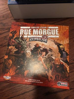Zombicide board game season 3 for Sale in Raleigh, NC