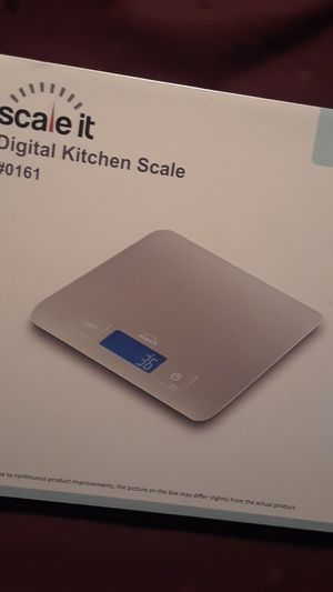 New! Scale it, Digital Kitchen Scale 6in by 7in for Sale in Orlando, FL