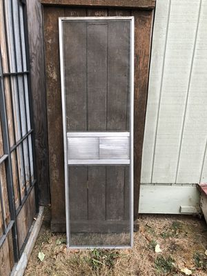 Vintage trailer screen door for Sale in Puyallup, WA