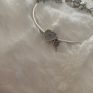 Heart With Key Charm for Sale in Chicago, IL