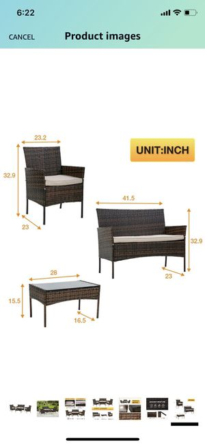 Outdoor set/furnitures for Sale in San Leandro, CA