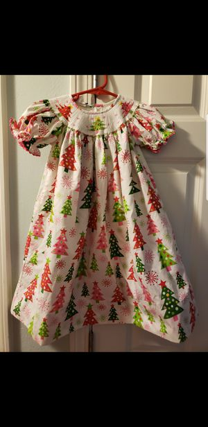 Toddler Smocked Christmas Dresses for Sale in P C BEACH, FL