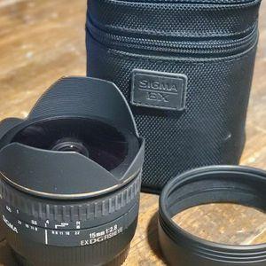 Sigma EX DG Fisheye 15mm f2.8 for Sale in Glendale, CA