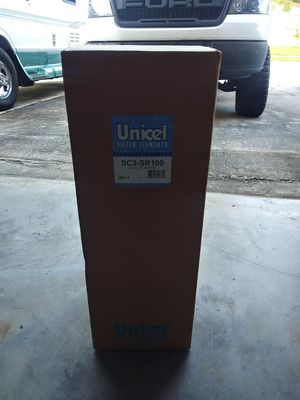 New Unopened Unicel SC3-SR100 Pool Filter for Sale in Miramar, FL