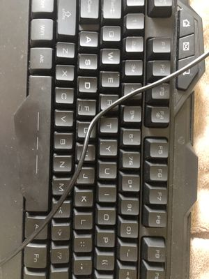 Gaming keyboard for Sale in Jacksonville, FL