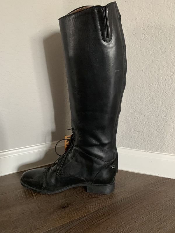 Ariat English jumping challenge field boot zip size 11