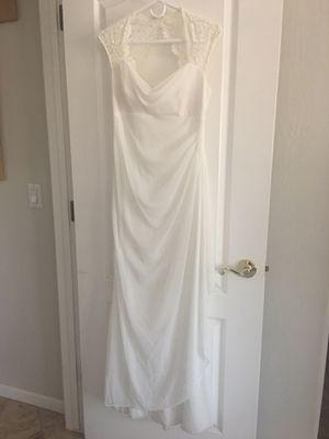 David's Bridal Lace wedding dress for Sale in Phoenix, AZ