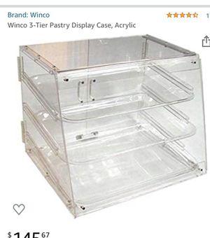 3 tier food display case. for Sale in Orlando, FL