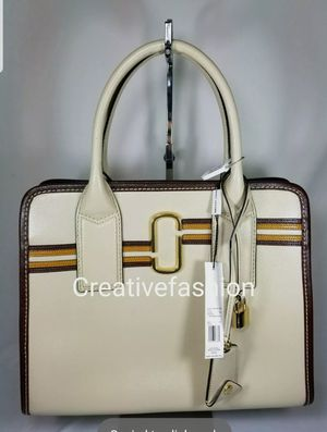 NWT MARC JACOBS Striped Big Shot TOTE Bag purse $525 (Minor Defect) for Sale in Garden Grove, CA