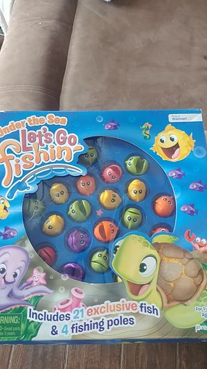 Kids fishing game for Sale in Rio Rancho, NM