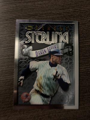 Derek Jeter Baseball Card for Sale in Syosset, NY