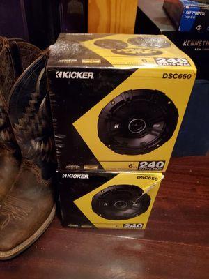 """6 1/2"""" kicker speakers for Sale in Brandon, FL"""