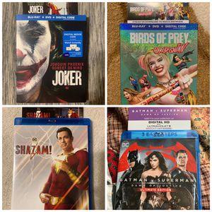 DC Universe Movie digital codes for Sale in Las Vegas, NV