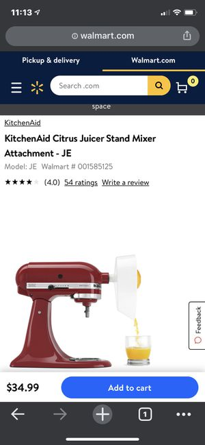 Kitchen aid pasta maker for Sale in North Fort Myers, FL