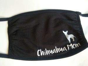 Chihuahua mom face mask for Sale in York, PA