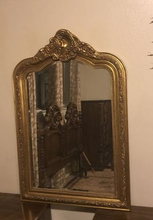 Antique gold mirror for Sale in Fresno, CA