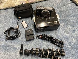Canon G7 mark iii (3) brand new for Sale in Hemet, CA