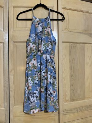 Light Blue Floral Dress for Sale in West Chicago, IL