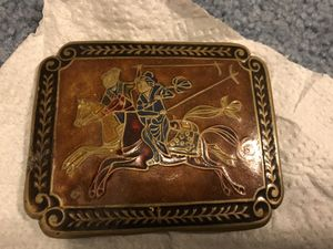 Vintage Oriental Belt Buckle Made In India for Sale in Vienna, MO