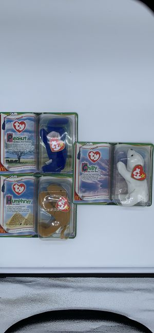 Limited Edition Ty Tiny Beanie Baby Legends for Sale in Atlanta, GA
