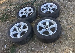2014 bmw 3 series stock rims and tires with like new run flats for Sale in Henderson, NV