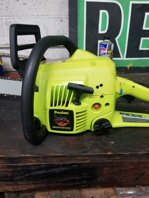 Poulan 4218 chainsaw for Sale in Oklahoma City, OK