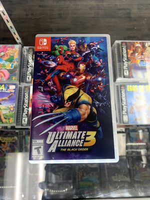 Marvel ultimate alliance 3 $40 Gamehogs 11am-7pm for Sale in East Los Angeles, CA