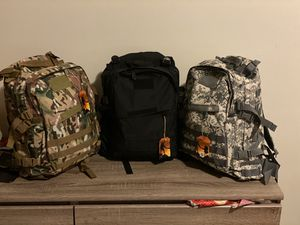 Outdoor military Tactical backpacks LJTactic Patriot 900D Quality 40L for Sale in Brooklyn, NY