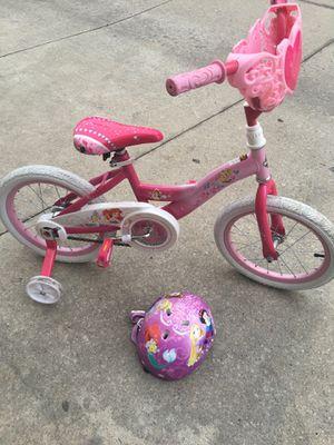 "Huffy 16"" princess girls bike w helmet for Sale in Paramount, CA"