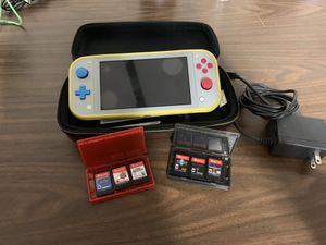 Nintendo Switch Lite Pokémon Edition for Sale in Chula Vista, CA