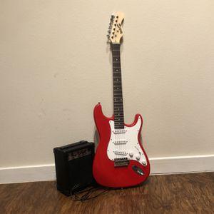 Rock Jam Guitar w/ Amp for Sale in Austin, TX