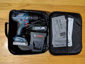 Almost new Bosch GSR18V cordless drill/driver for Sale in Silver Spring, MD